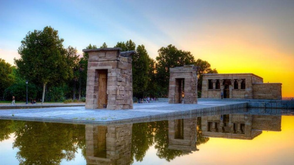 Destinació Temple de Debod