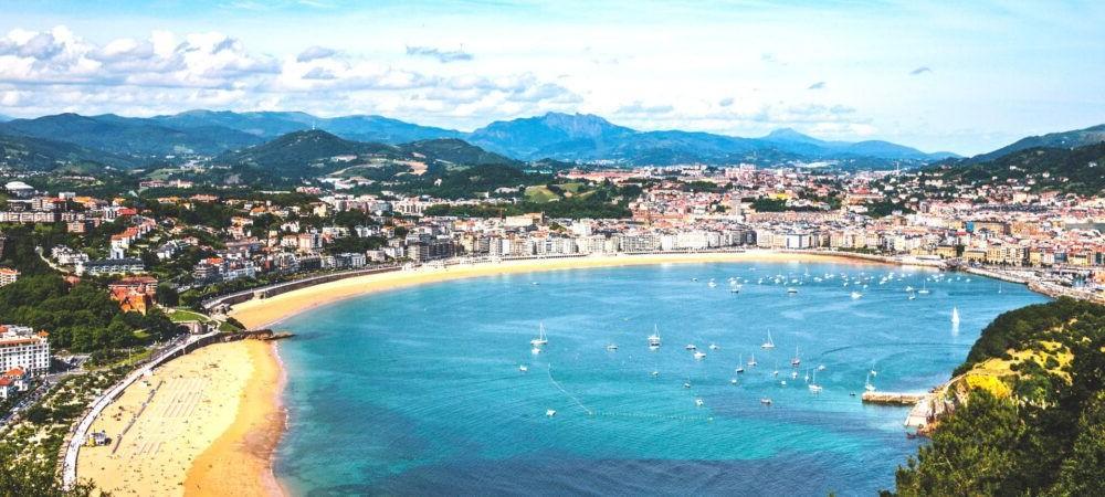 Destinació San Sebastian Espanya