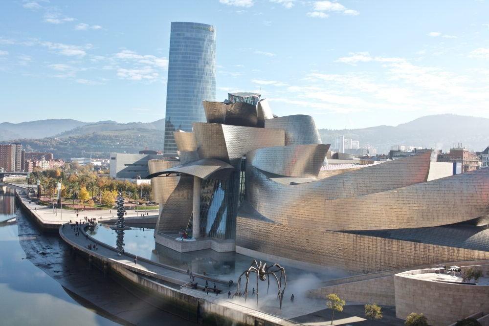Destinació Bilbao Espanya