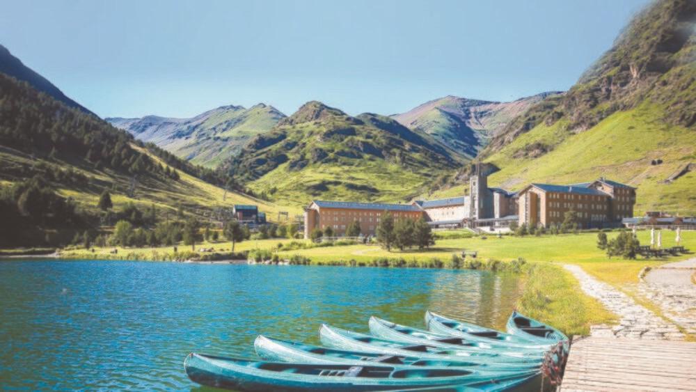 Vall de Núria als Pirineus