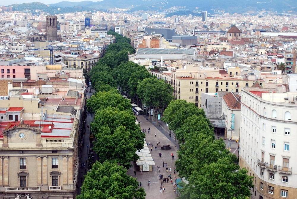 Destinació Les Rambles Barcelona