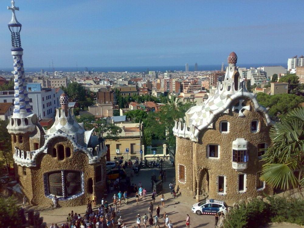 Destinació Parc Güell Barceloneta