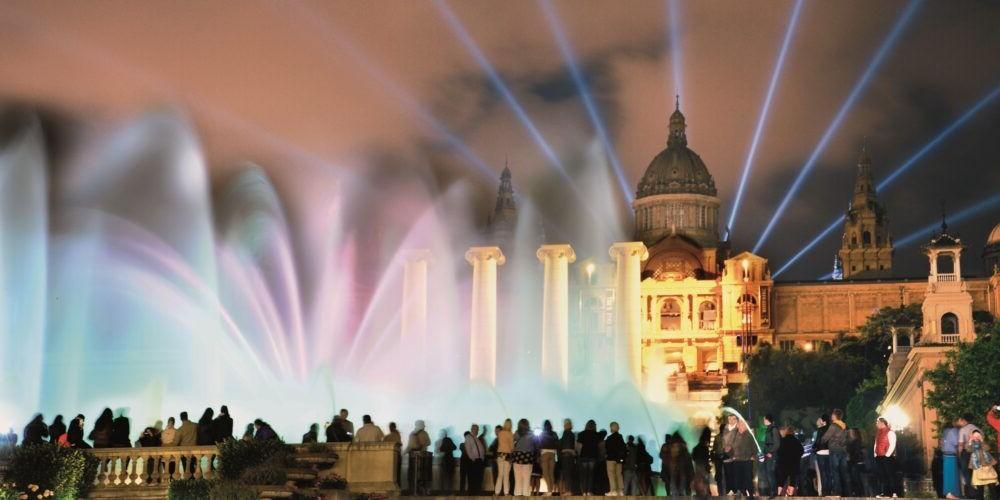 Destinació Montjuïc i la seva Font Màgica Espanya